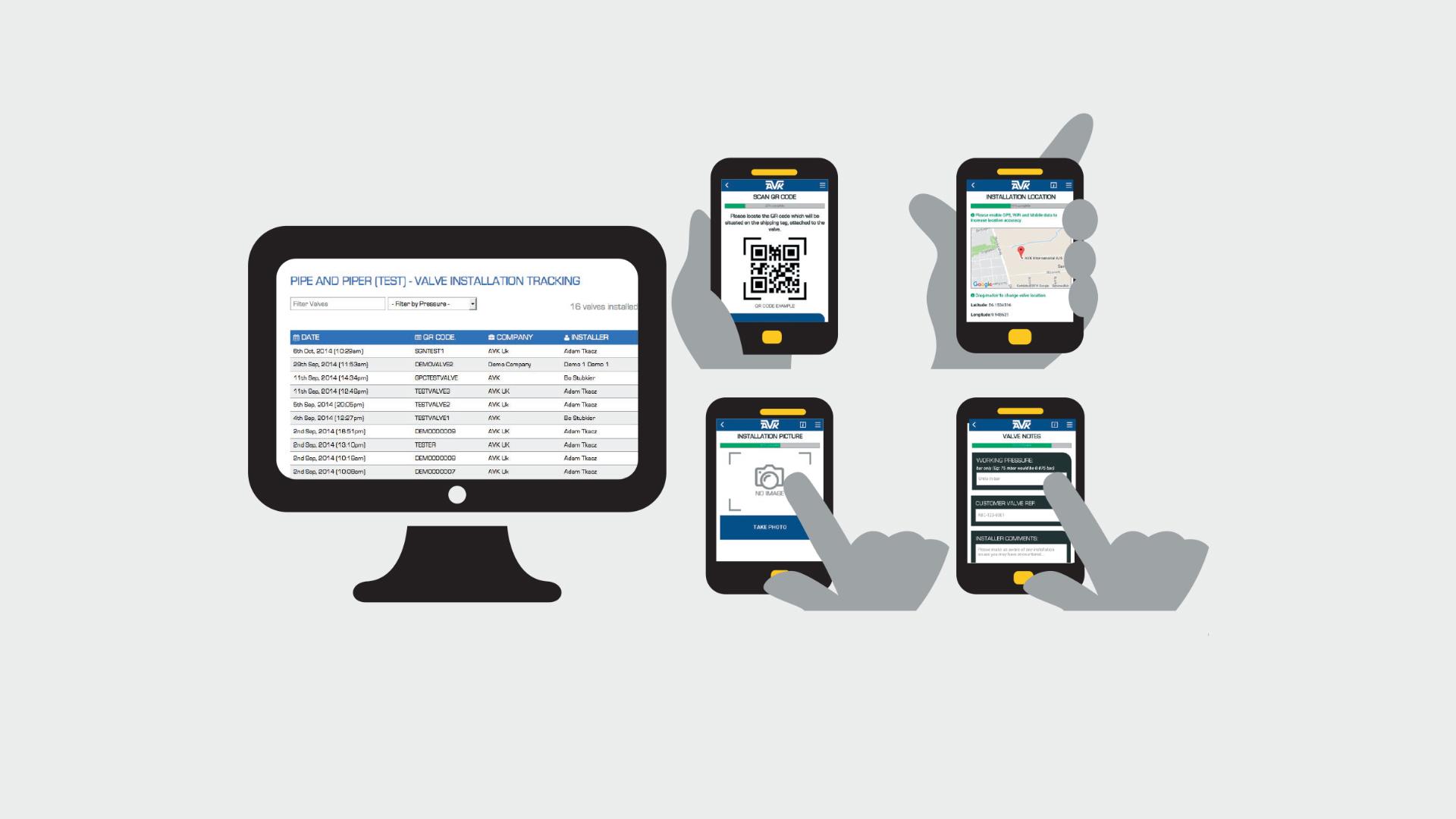 Application mobile AVIT